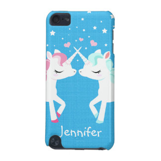 Unicorns in love Ipod Touch case Customisable