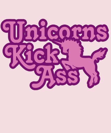 Unicorns Kick womens 80s