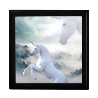 Unicorns Large Square Gift Box
