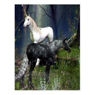 Unicorns Postcard