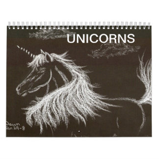 UNICORNS WALL CALENDARS