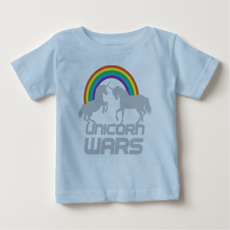 Unicorns Wars With Rainbow Baby T-Shirt