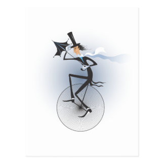 Unicycle Postcard