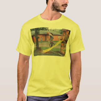 Unicycle_slide T-Shirt