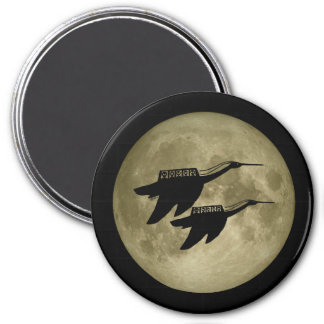 Unidentified Flying Object 7.5 Cm Round Magnet