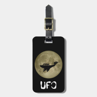 Unidentified Flying Object Bag Tag