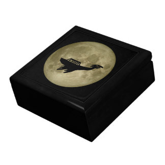 Unidentified Flying Object Large Square Gift Box