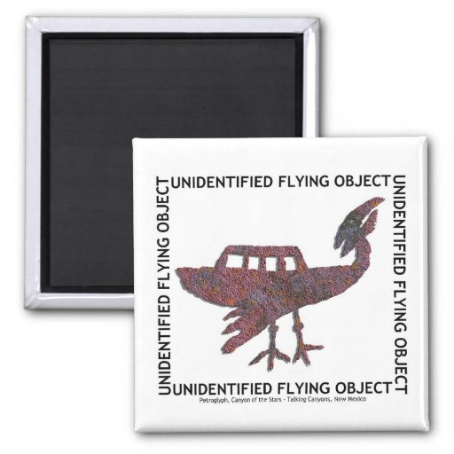 Unidentified Flying Object Magnets