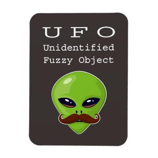 Unidentified Fuzzy Object Magnet