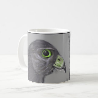 unidentified weird bird of prey coffee mug