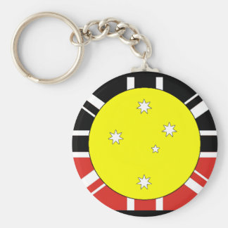 Unification flag of Australia Key Ring