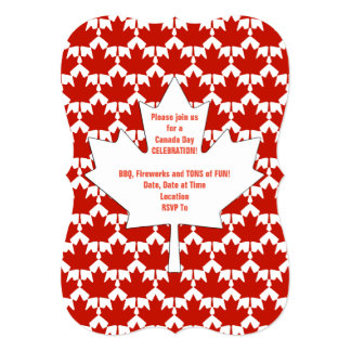 Unified Canada Day Party Invitation