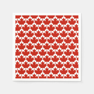 Unified Canada Day Party Paper Napkins Disposable Serviette