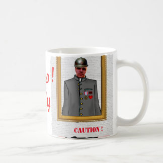 Uniform Officer Sordier, Grey, - Photo with YOUR - Coffee Mug
