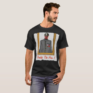 Uniform Officer Sordier, Grey, - Photo with YOUR - T-Shirt