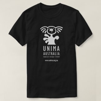 UNIMA Australia Mens T-Shirt Black