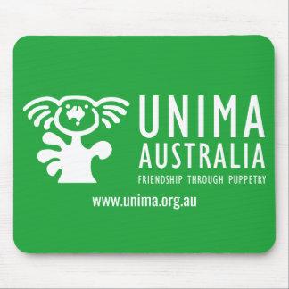 UNIMA Australia Mouse Pad GREEN