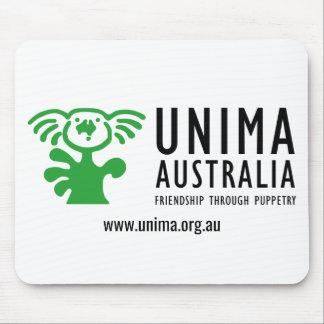 UNIMA Australia Mouse Pad WHITE