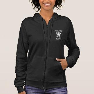 UNIMA Australia Womens Fleece Zip Hoodie