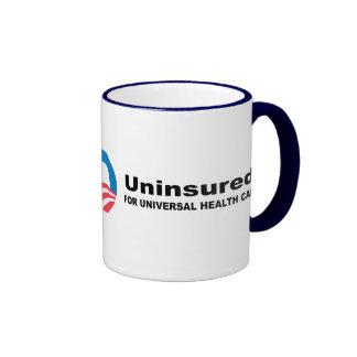 Uninsured for Universal Health Care Mug