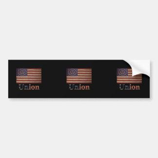 Union Army USA Civil War Flag Bumper Sticker
