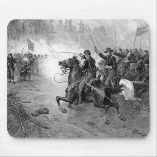 Union Cavalry Charge -- Civil War Mouse Pad