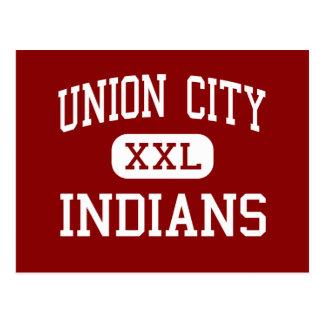 Union City - Indians - Community - Union City Postcard