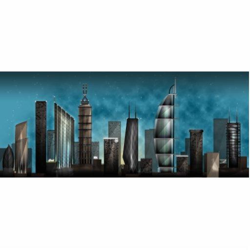 Union City Acrylic Cut Outs