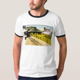 Union Depot in Sault Ste. Marie, Michigan T-Shirt