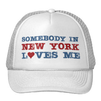 Union Eight Somebody in New York Loves Me Hat