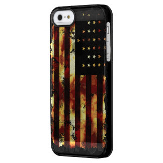 Union Flag, Civil War, Stars and Stripes Clear iPhone SE/5/5s Case