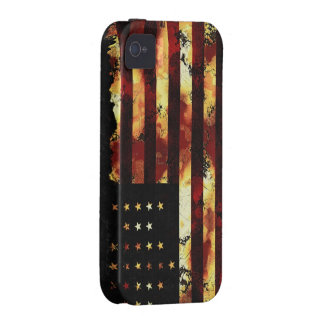 Union Flag, Civil War, Stars and Stripes, USA Vibe iPhone 4 Cover