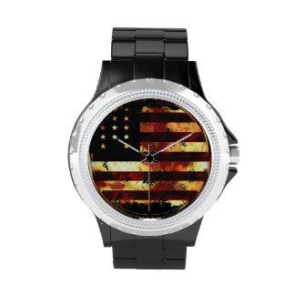 Union Flag, Civil War, Stars and Stripes, USA Wrist Watch