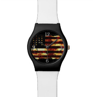 Union Flag, Civil War, Stars and Stripes, USA Wristwatches