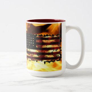 Union Flag, Civil War, Stars & Stripes, USA Coffee Mugs