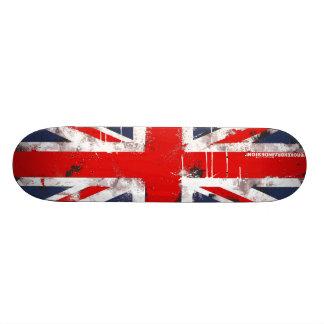 Union Flag - Deck. Custom Skate Board