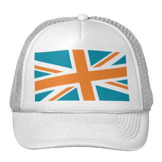 Union Flag Hat (Teal/Orange)