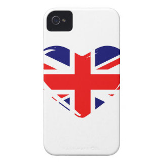 Union Flag Heart iPhone 4 Cover