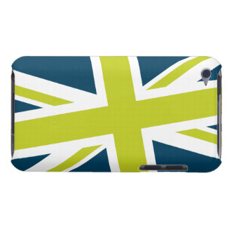 Union Flag iPod Case (Navy/Lime) iPod Touch Covers