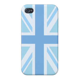 Union Flag/Jack Design Blues Cases For iPhone 4