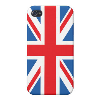Union Flag/Jack Design Cover For iPhone 4