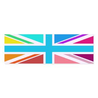 Union Flag/Jack Design – Multicoloured Business Card Template