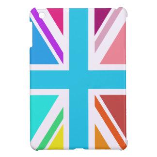 Union Flag/Jack Design - Multicoloured iPad Mini Case