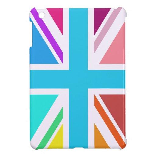 Union Flag/Jack Design - Multicoloured iPad Mini Cases