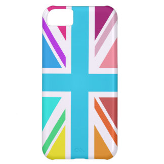 Union Flag/Jack Design - Multicoloured iPhone 5C Case