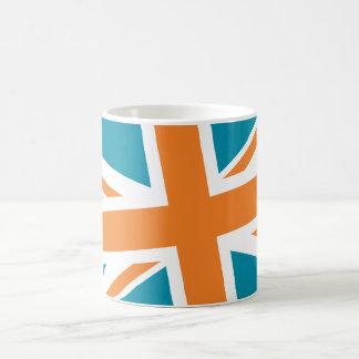 Union Flag Mug (Teal/Orange)