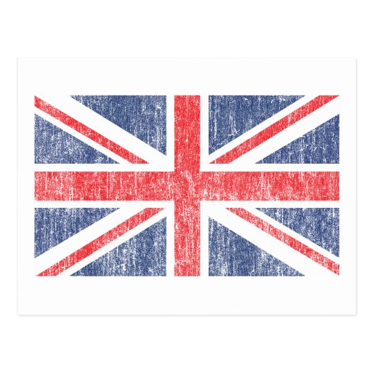 Union Flag Vintage Postcard
