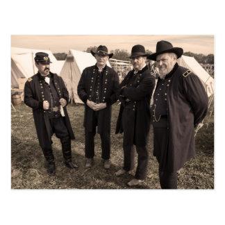 Union Generals of the Civil War Postcard