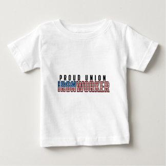 Union Ironworker Baby T-Shirt