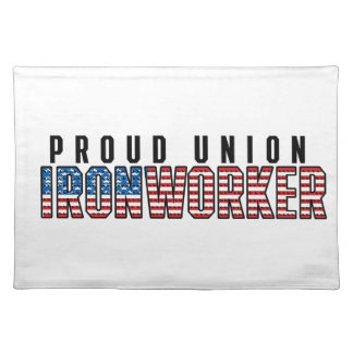 Union Ironworker Placemat